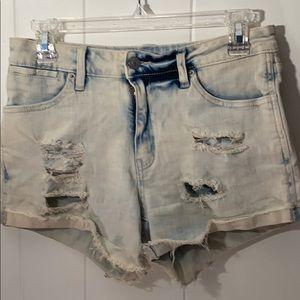 Just USA Jean shorts
